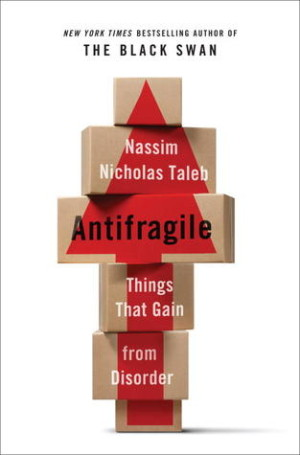 Antifragile book cover design